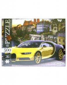 Пазл Желтый спорткар 500 эл