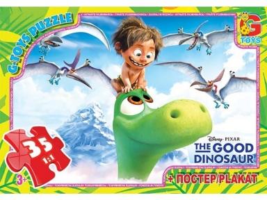 Пазл Хороший динозаврик 35 эл