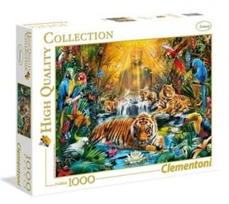 Пазл Мистические тигры 1000 эл