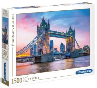 Пазл Тауэрский мост в Лондоне 1500 эл Clementoni
