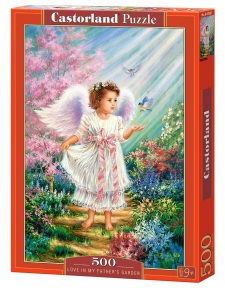 Пазл Любовь в райском саду 500 эл