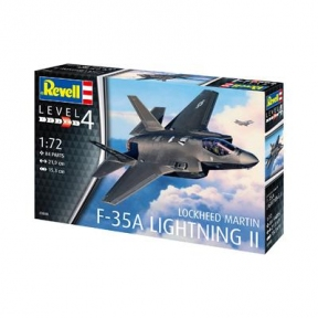 Сборная модель-копия Revell Истребитель-бомбаридовщик F-35