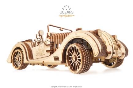 3D Пазлы Модель Родстер VM-01 437 дет Ugears