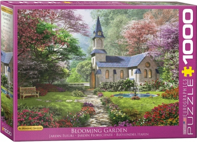 Пазл Eurographics Цветущий сад Доминик Дэвисон 1000 эл 6000-0964