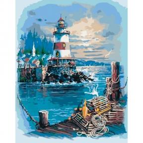 Картина по номерам Тихая гавань 40 х 50 см КНО2724 Идейка