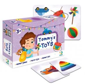 Игра мемо Игрушки Тома Додо от 3 лет