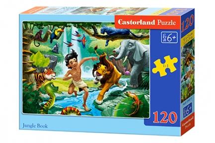 Пазл Книга джунглей 120 эл
