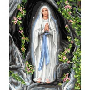 Картина по номерам Богородица 50 х 40 см Brushme
