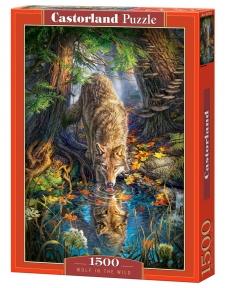 Пазл Волк в дикой природе 1500 эл