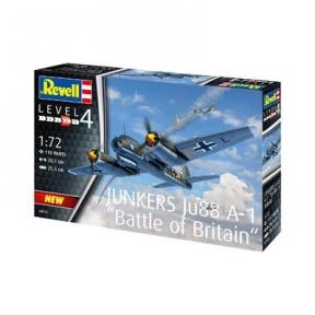 Сборная модель-копия Revell Юнкерс Ю-88 А-1 Битва за Британию уровень 4 масштаб 1:72