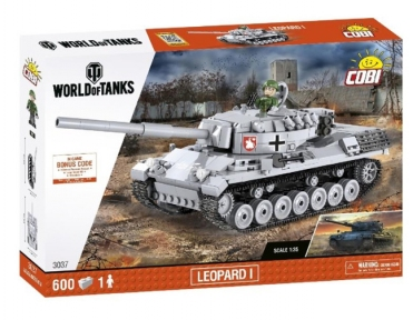 Конструктор COBI World Of Tanks Леопард 1, 600 дет