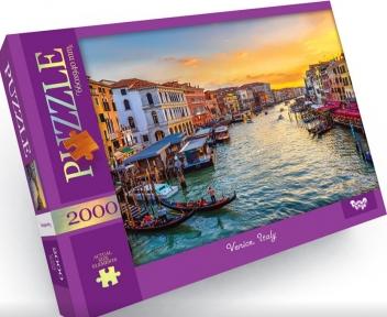 Пазл Закат в Венеции Италия 2000 эл Danko Toys