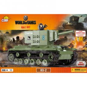 Конструктор COBI World Of Tanks КВ-2