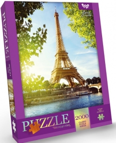 Пазл Эйфелева башня Париж 2000 эл Danko Toys
