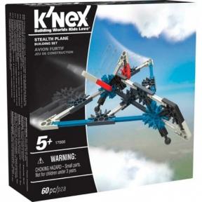 Самолет Стелс (60 деталей), набор для конструирования, K`nex