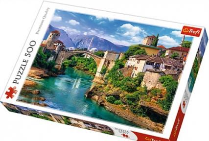 Пазл Старый мост в городе Мостар Босния и Герцеговина 500 эл