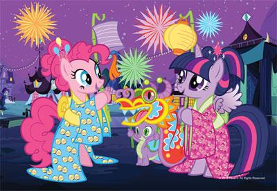 Пазл Мой маленький пони Китайский новый год 54 эл мини