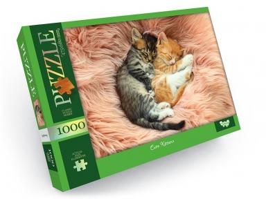 Пазл Смешные котята 1000 эл Danko