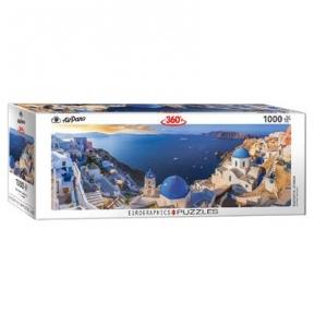 Пазл Eurographics Санторини Греция 1000 эл панорамный 6010-5300