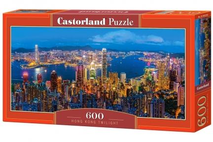 Пазл Ночной Гонг Конг 600 эл панорамный