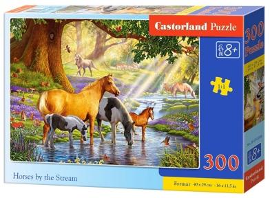 Пазл Лошади у ручья 300 эл