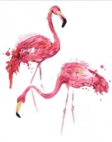 Картина по номерам Фламинго 50 х 40 см Brushme