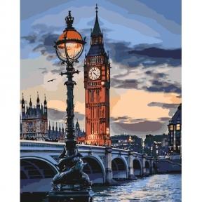 Картина по номерам Лондон в сумерках КНО3555 Идейка