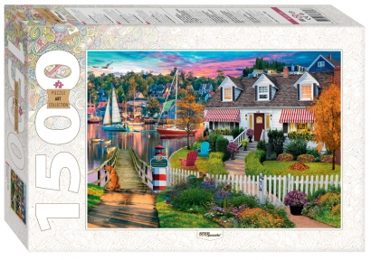 Пазл Дом в гавани Чарльз Харбор 1500 эл Step Puzzle