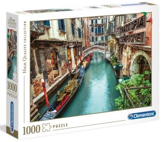 Пазл Итальянская коллекция Венецианский канал 1000 эл Clementoni
