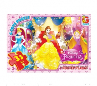 Пазл Бал для принцесс 35 эл