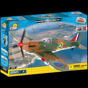 Конструктор COBI Вторая Мировая Война Самолет Хоукер Харрикейн