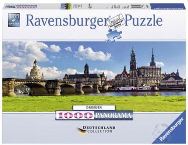 Пазл Ravensburger Панорама Дрездена 1000 эл