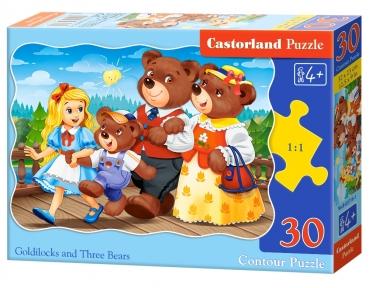Пазл Три Медведя 30 эл крупные
