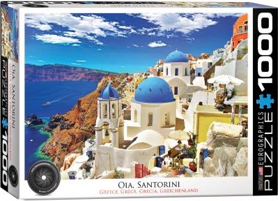 Пазл Eurographics Ия Санторини Греция 1000 эл 6000-0944