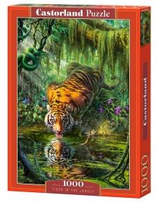 Пазл Тигр в джунглях 1000 эл