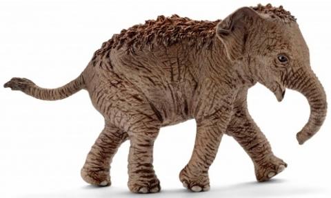Азиатский слоненок (вариант 2) - игрушка-фигурка, Schleich