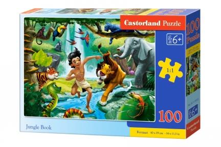 Пазл Книга джунглей 100 эл