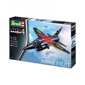 Сборная модель-копия Revell Многоцелевой истребитель Дассо Мираж F1 уровень 4 масштаб 1:72