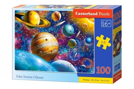 Пазл Солнечная система Планеты 100 эл