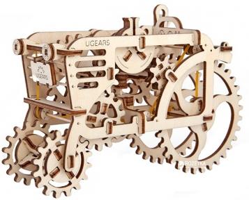 3D Пазлы Модель Трактор 97 дет Ugears