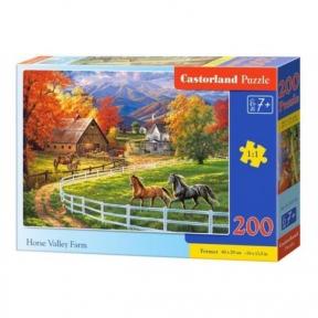 Пазл Ферма в долине лошадей 200 эл