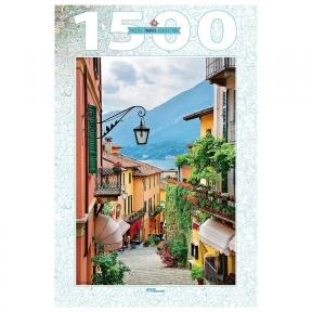 Пазл Италия Вид на озеро Комо 1500 эл Step Puzzle