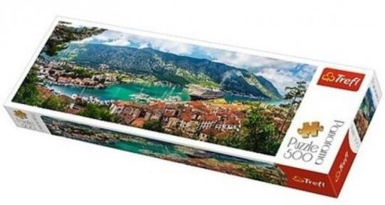 Пазл Котор Черногория 500 эл панорама