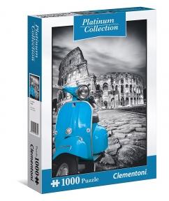 Пазл Мотороллер возле Колизея платиновая коллекция 1000 эл