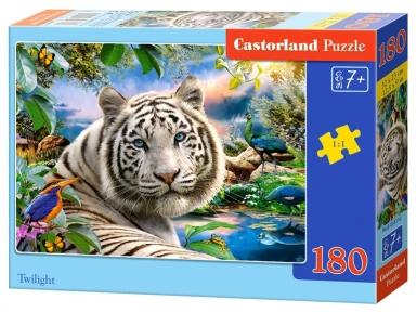 Пазл Белый тигр 180 эл