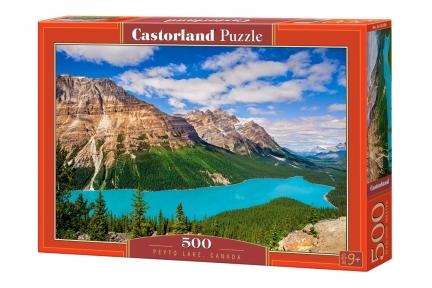 Озеро Пейто в Канаде 500 эл