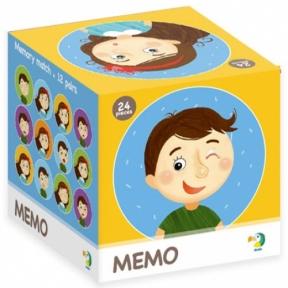 Игра Мемо Эмоции, 24 элемента, Dodo