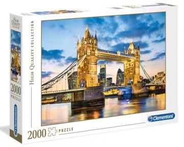 Пазл Тауэрский мост Лондон Англия 2000 эл Clementoni