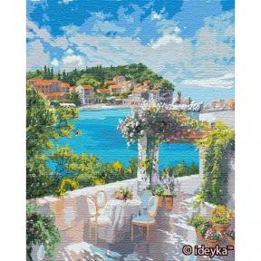 Картина по номерам Завтрак у моря (big) © Ira Volkova 50 х 65 см Идейка КНО12834