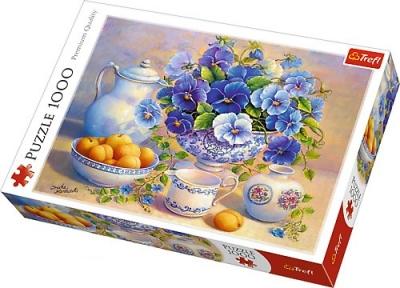 Пазл Натюрморт с абрикосами копия картины Тришы Хардвик 1000 эл